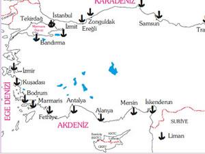 Türkiye'nin 10 önemli limanında alınan tedbirler