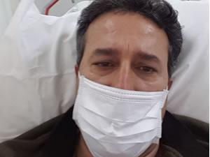 Korona hastası hastanede feryat etti