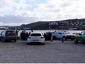 Bodrum'da sahilde toplananlara para cezası kesildi