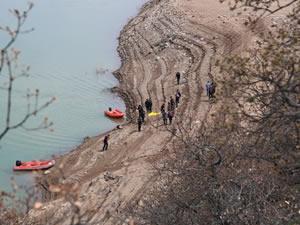 Baraj gölünde hayatını kaybeden kişinin kimliği belli oldu