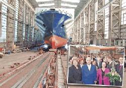 """UN Ro-Ro A.Ş'nin 10. gemisi """"Trieste"""""""