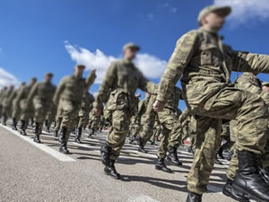 KKTC'den gemiyle Mersin'e getirilen 509 asker, memleketlerine gönderildi