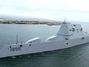 Milyar dolarlık hayalet destroyer, ABD Donanması'nın envanterine girdi
