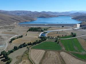 Bayburt'ta 160 bin 520 dekar tarım arazisi sulanmaya başladı