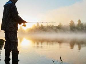 Balık tutarken fotoğraf çekti, para cezası kesildi
