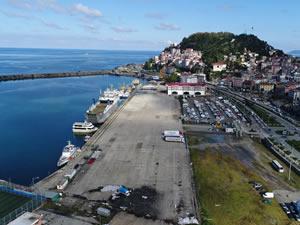 Giresun Limanı faaliyetlerini sürdürüyor