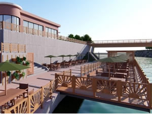 Gülüç'te sahil projesi tamamlanıyor