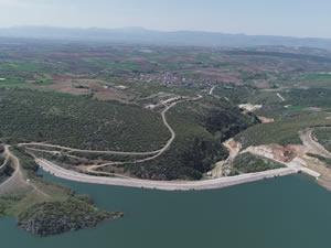 Bursa'da Çiçeközü Göleti bölgeye cansuyu olacak