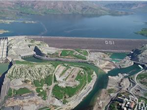 Ilısu Barajı'nda enerji üretimi test süreci başladı