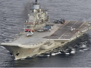 Rusya'nın tek uçak gemisi bakıma alındı