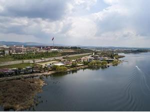 Mogan Gölü'nde su kalitesinin artmasıyla yaşayan canlı türü de arttı