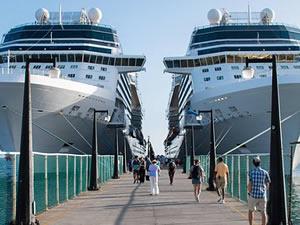 Limanlardan kruvaziyer gemi endüstrisine darbe