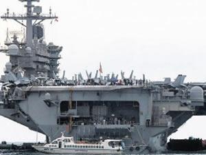 Olaylı gemi  'USS Theodore Roosevelt' yeniden denize açıldı