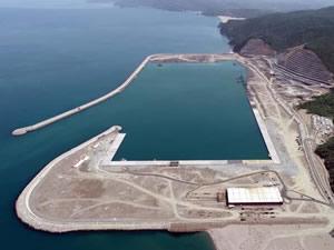 Filyos Liman Projesi'nin yüzde 67'si tamamlandı