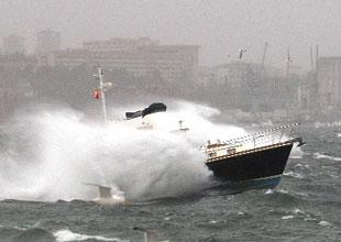 Kuzey Ege ve Marmara'da fırtına uyarısı