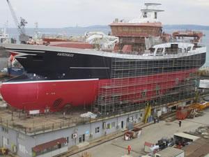 Cemre Shipyard, Hardhaus'u suya indirdi