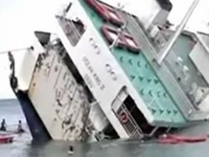Filipinler'de yolcu gemisi battı