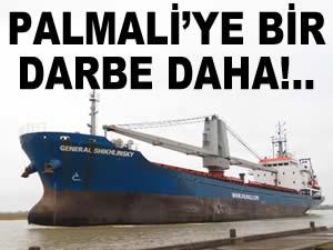 Palmali Denizcilik'e ait iki genel kargo gemisi, İtalya'nın Oristano Limanı'nda tutuklandı