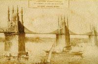 İşte ilk Boğaz Köprüsü!...
