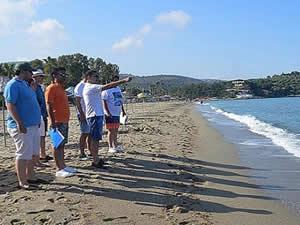 Kuşadası plajlarında Avrupa standartlarında düzenleme yapılacak