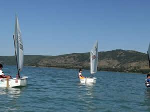Tatvan'da yelken sporu antrenmanları başladı