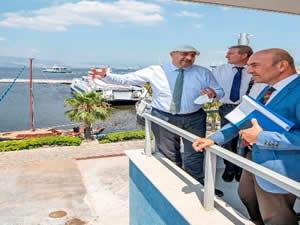 Başkan Soyer, Levent Marina projesinin detaylarını açıkladı