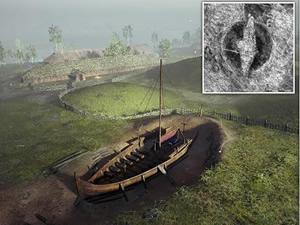 Norveç'te viking gemisi, günyüzüne çıkarılıyor