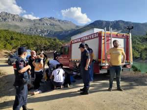 Konya'da baraja giren genç boğuldu
