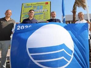 Manavgat'ın iki plajına Mavi Bayrak Sertifikası verildi