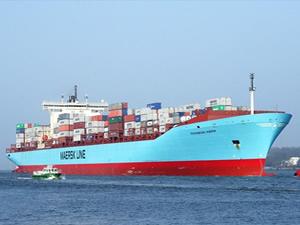 Svendborg Maersk gemisinde kokain ele geçirildi, iki kişi tutuklandı