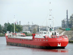Türk şirketine ait M/V DIAMANT isimli genel kargo gemisi, İtalya'da tutuklandı