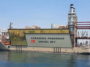 KPS Göksel Bey Takoradi'ye elektrik verecek