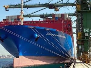 Dammam Limanı'nda rekor elleçleme