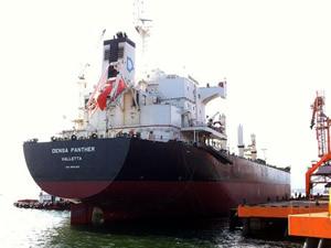 Türk armatörlük şirketine ait M/V DENSA PANTHER, Chornomorsk Limanı'nda tutuklandı