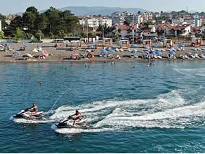 Karadeniz sahillerine güvenlik dubaları yerleştirildi