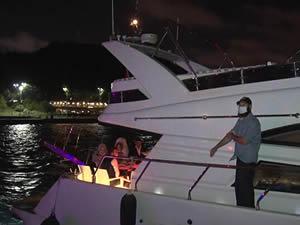 İstanbul Boğazı'nda teknelerde denetim yapıldı