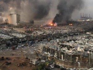 Lübnan ekonomisinin can damarı Beyrut Limanı, büyük bir harabeye dönüştü