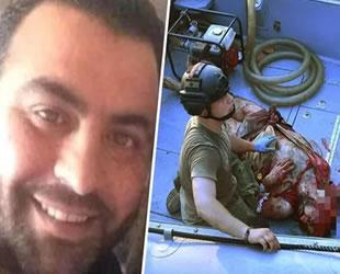 Beyrut'ta Amin al-Zahed isimli liman çalışanı patlamadan 30 saat sonra denizde canlı bulundu