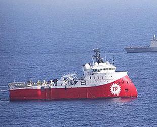 Barbaros sismik araştırma gemisi taramalara başladı