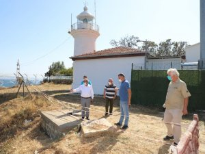 Tarihi deniz feneri Gelibolu Belediyesi tarafından kiralandı