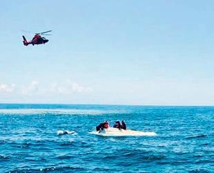 ABD'de alabora olan teknedeki 4 kişi kurtarıldı