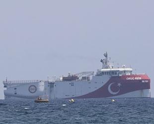 Sismik araştırma için streamer Akdeniz'e indi