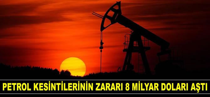 Petrol kesintilerinin Libya'ya zararı 8 milyar doları aştı