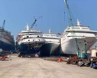 Aliağa Gemi Söküm Tesisleri, kruvaziyer limanına döndü