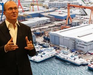 UZMAR'ın insansız liman kontrol botu suya iniyor