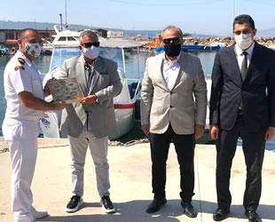Ege Deniz Bölge Komutanı Serkan Tezel, İMEAK DTO Aliağa Şubesi'ni ziyaret etti