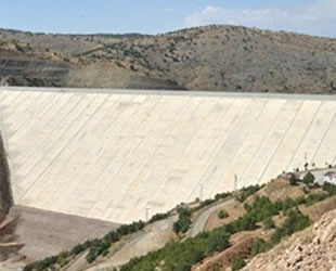 Bozkır Barajı'nda su tutulmaya başlandı