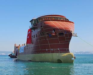 Cemre Tersanesi, ESVAGT-2 isimli gemiyi denize indirdi