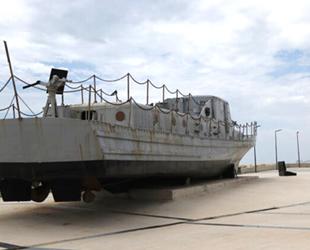 Şehit Teğmen Caner Gönyeli gemisi bakımdan geçiriliyor
