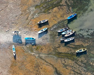 Marmara Gölü'nde su seviyesinin düşmesi balıkçılık yapan aileleri etkiledi